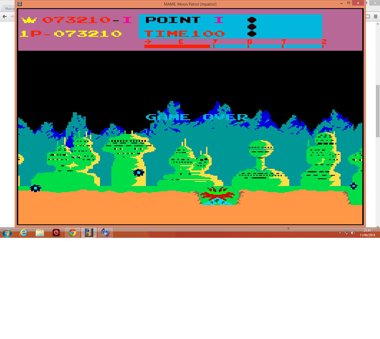 lenny2571: Moon Patrol (Arcade Emulated / M.A.M.E.) 73,210 points on 2014-06-11 14:42:35