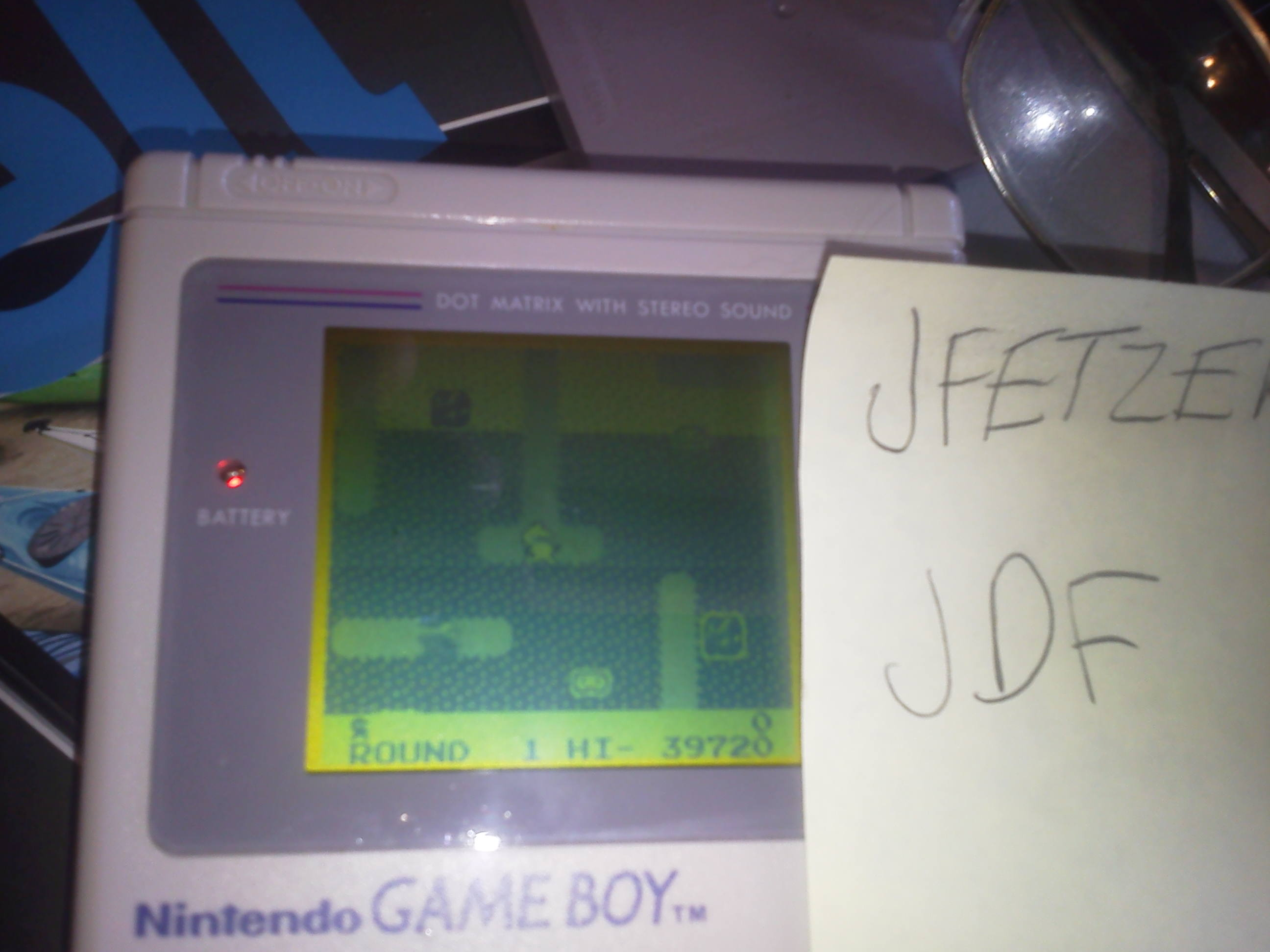 jfetzer: Dig Dug (Game Boy) 39,720 points on 2014-06-11 16:34:01