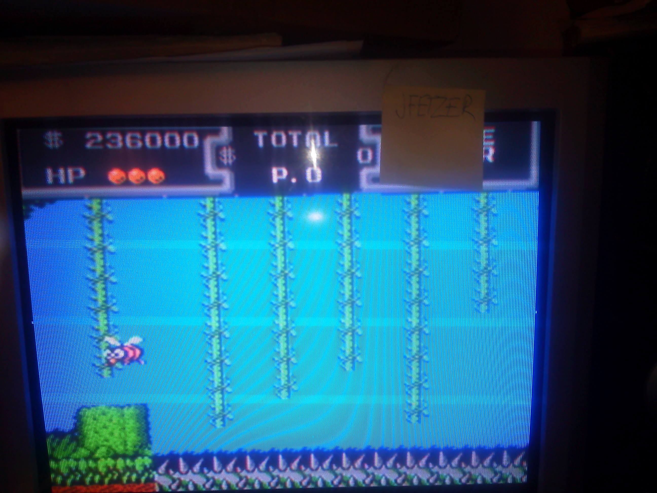 jfetzer: DuckTales: Easy (NES/Famicom Emulated) 236,000 points on 2014-06-11 22:53:18