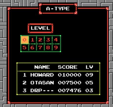 Tetris 7,476 points