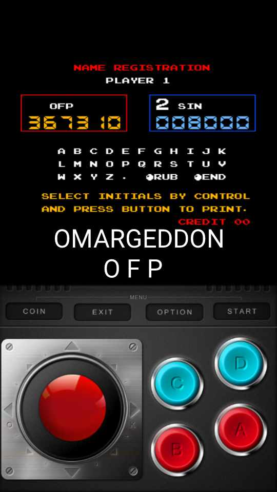 omargeddon: vs. Pinball (Arcade Emulated / M.A.M.E.) 367,310 points on 2016-11-23 19:55:43