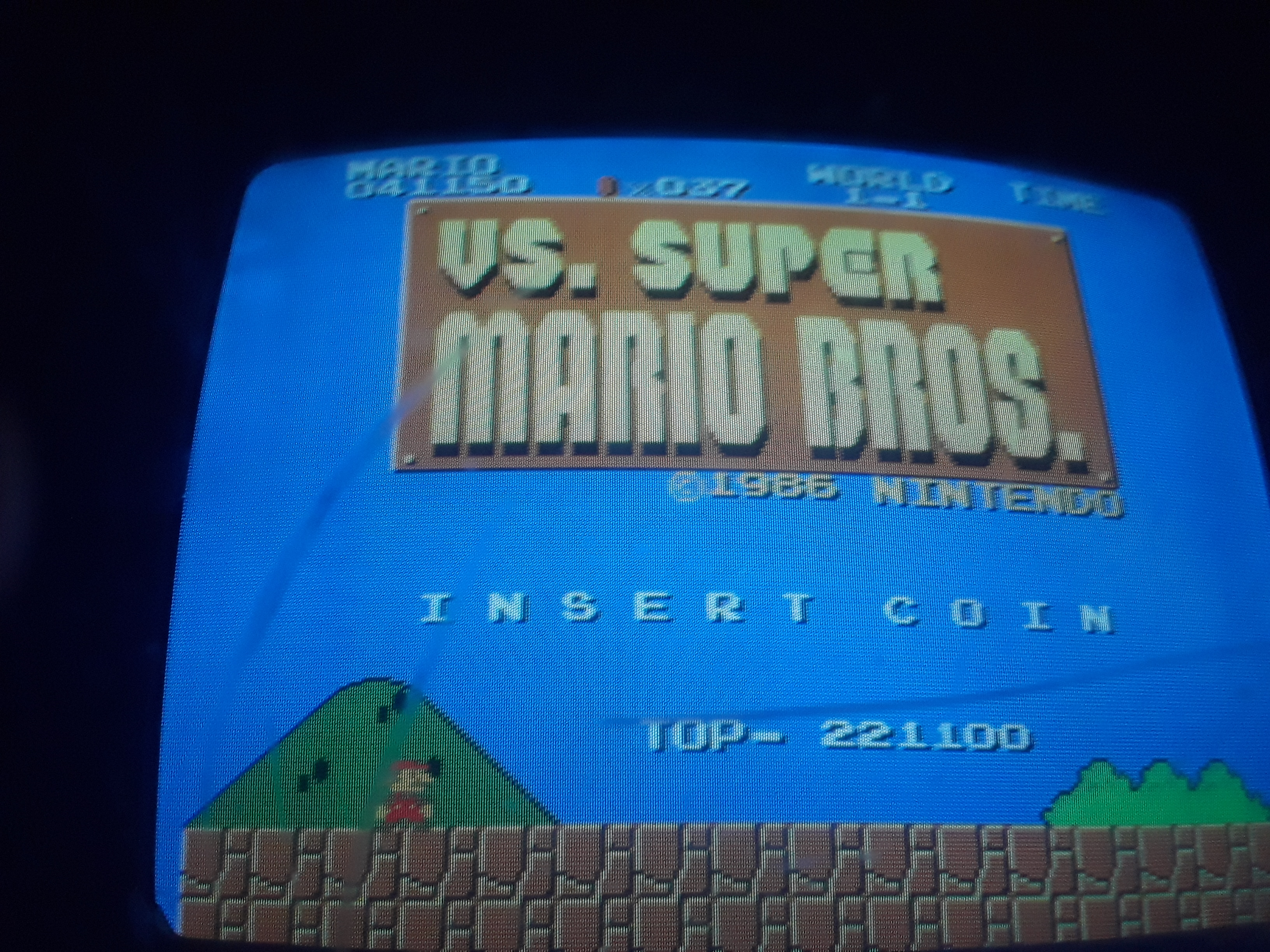 vs. Super Mario Bros 41,150 points